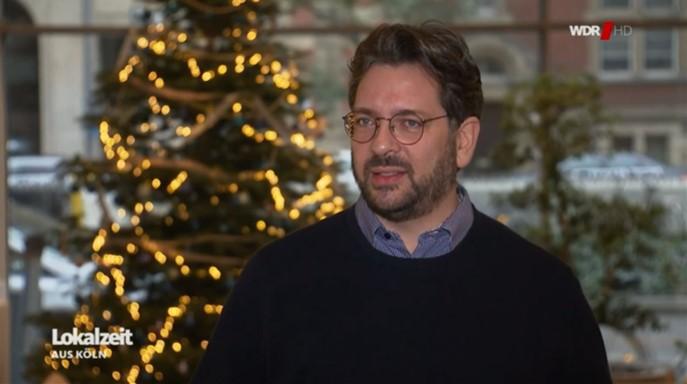 Markus Küppers in der WDR Lokalzeit Köln – Thema: Verlängerter Lockdown