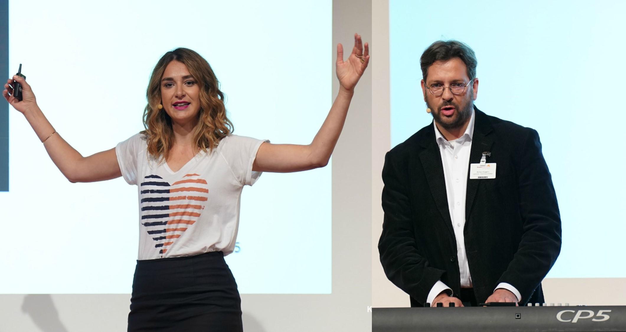 Carmen Schenkel und Markus Küppers auf den Kinderwelten 2018