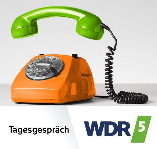 """Onlinehimmel versus Shopperverantwortung – Carmen Schenkel im """"Tagesgespräch"""" bei WDR 5."""