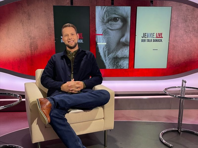 """Oliver Spitzer bei ProSieben: """"JENKE. Live. Der Talk danach."""""""